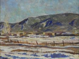 Berninghaus-Charles---Landscape-Taos-NM-unframed