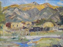 Berninghaus-Charles---Taos-NM-Landscape-unframed