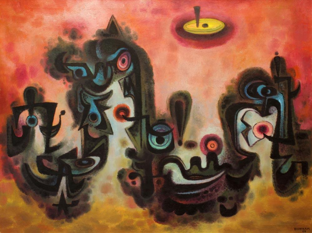 Bisttram-Emil---Quetzaquetz-1954-unframed