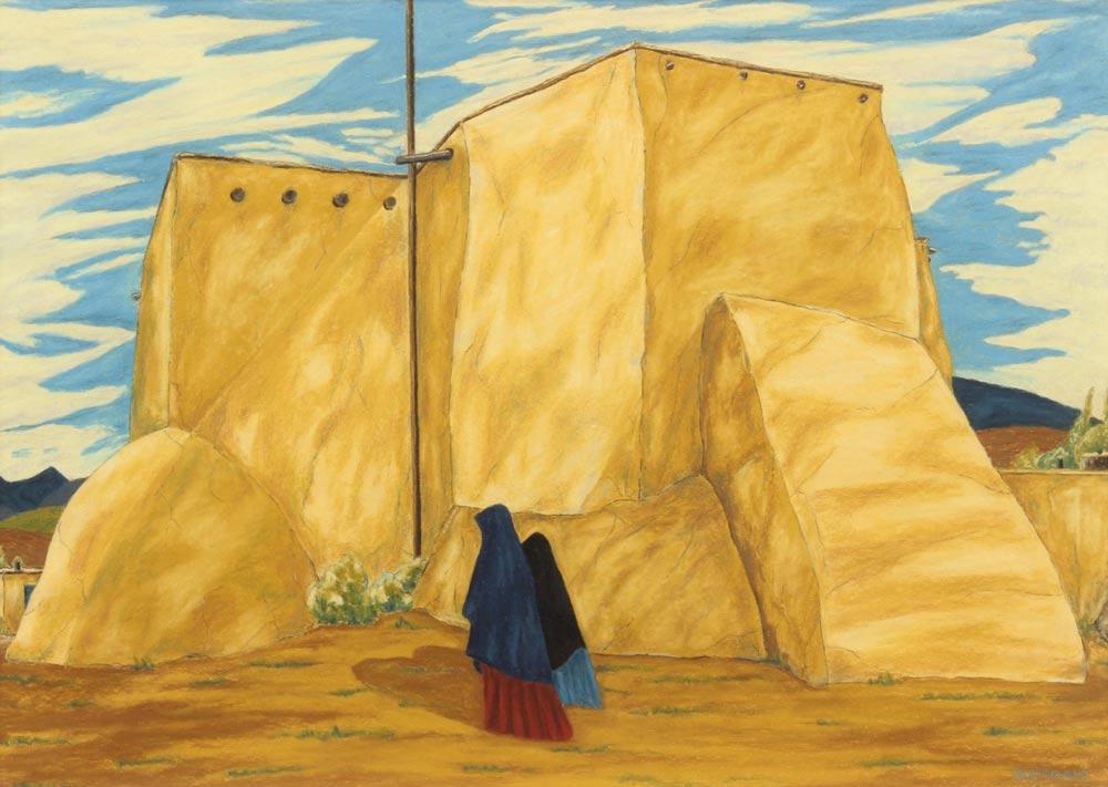 Bisttram-Emil---Ranchos-Church-WC-unframed