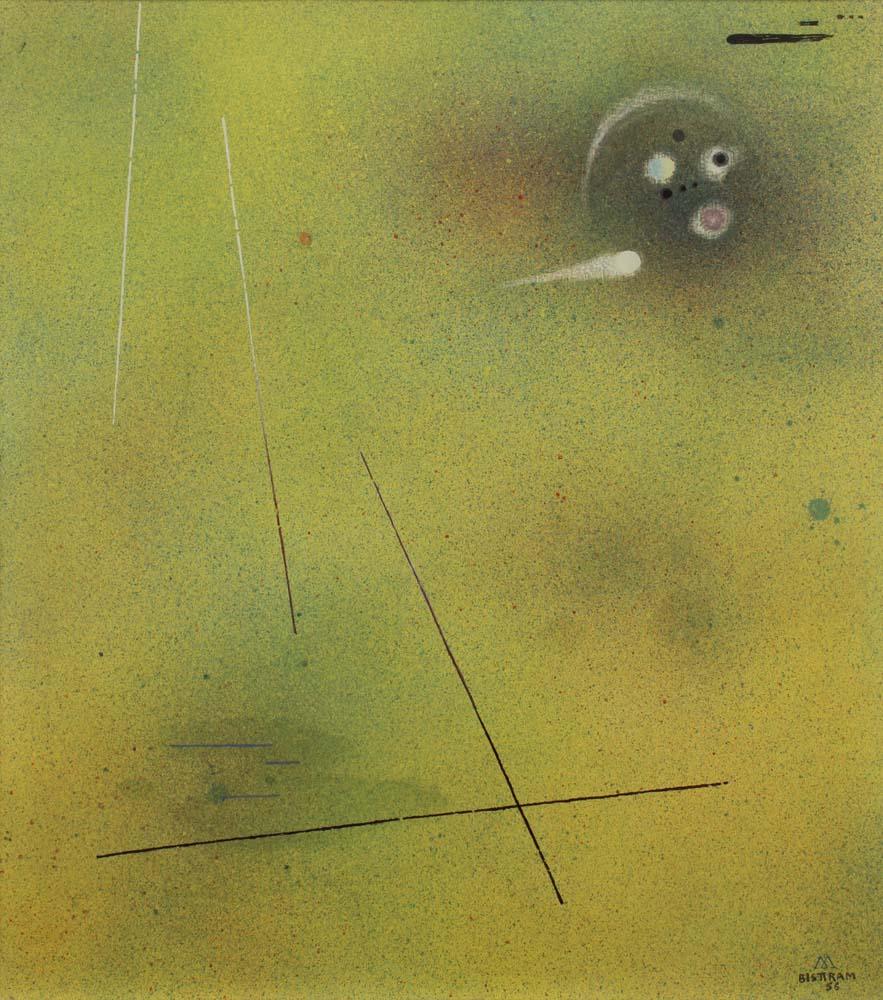 Bisttram Emil - Right into Space unframed
