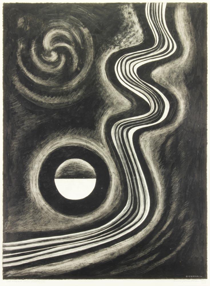 Bisttram-Emil---The-Stream-Unto-Eternity-1937-unframed