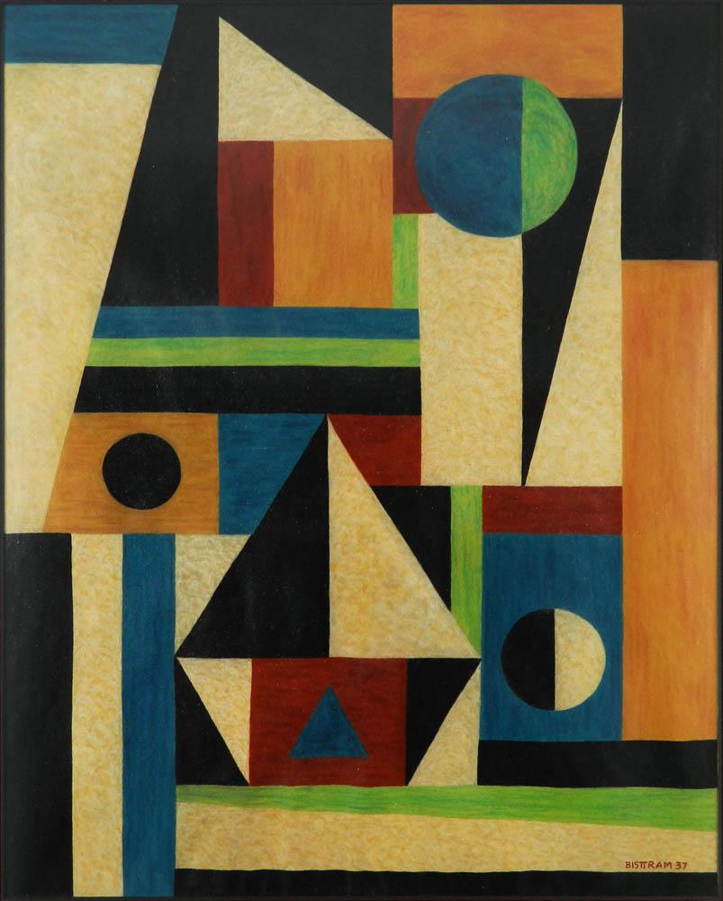 Bisttram, Emil - Transcendental Abstraction unframed