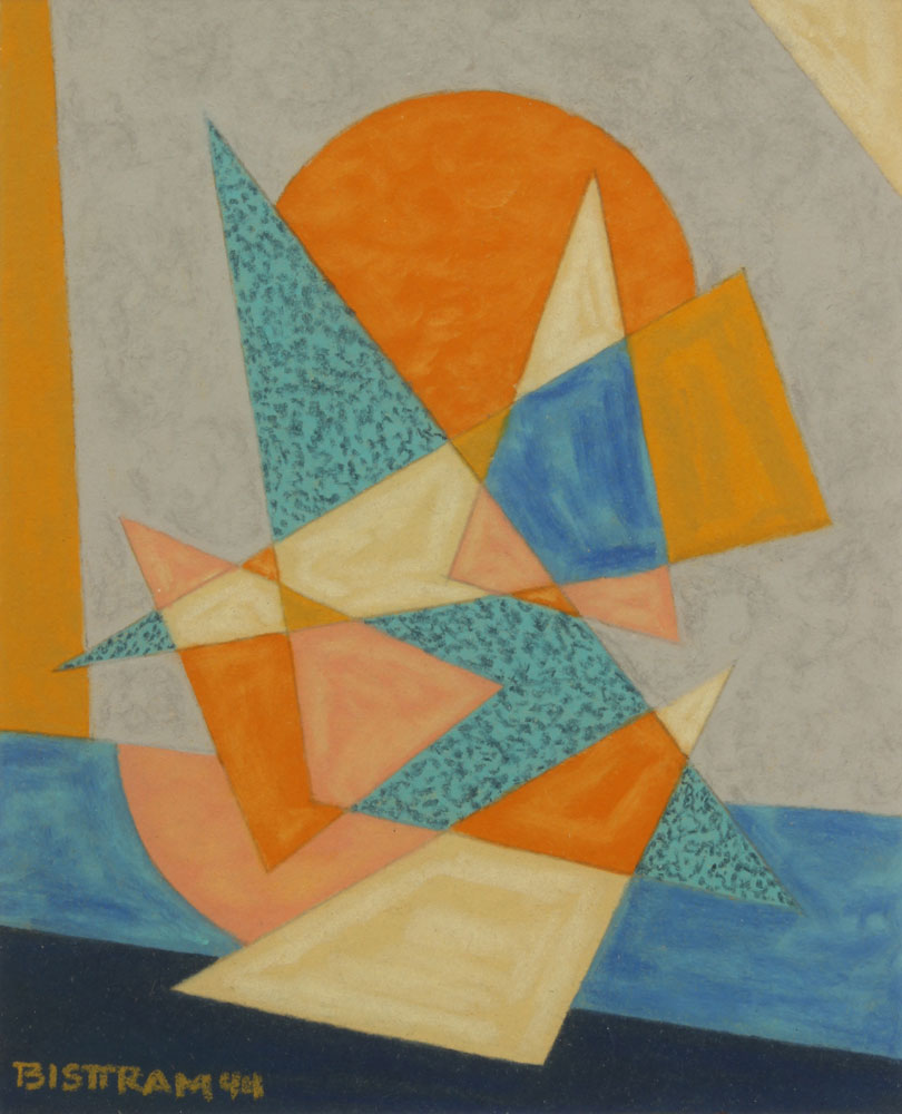 Bisttram-Emil---Triangle-and-Sun-unframed