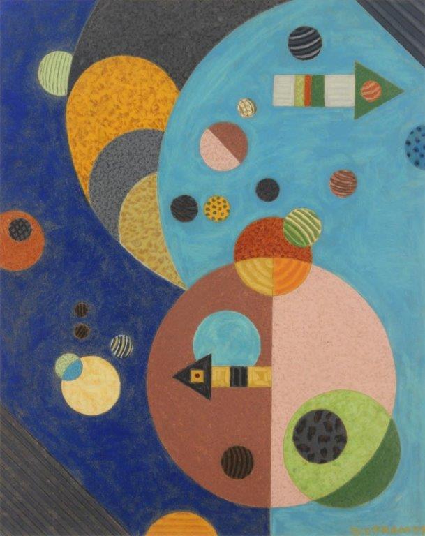 Bisttram-Emil---Untitled-Enc-1937-unframed