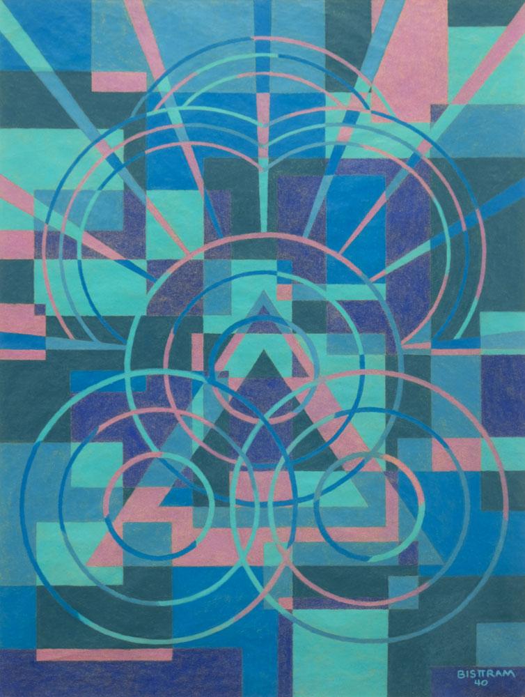 Bisttram-Emil-Untitled-Pastel-1940-unframed-edit