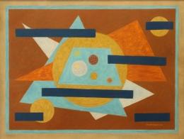 Bisttram-Emil---Rectangular-Movement-1940-unframed