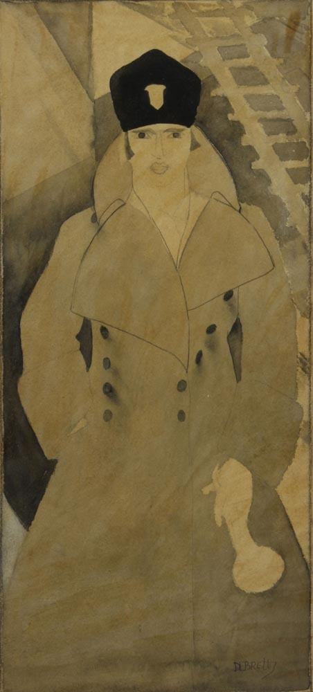 Brett-Dorothy---Self-Portrait-1925-unframed