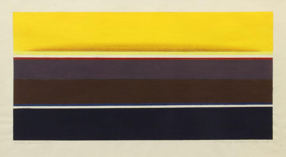 Calcagno-Lawrence---Dark-Sunbands-1968-unframed
