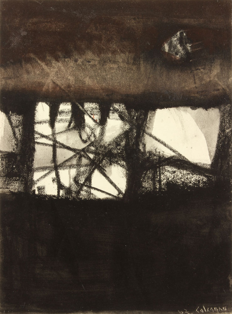 Calcagno-Lawrence---Untitled-II-1962-unframed