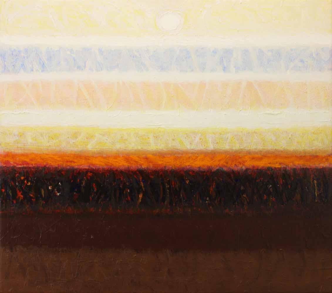 Calcagno Lawrence - Untitled Landscape 1983 unframed edit