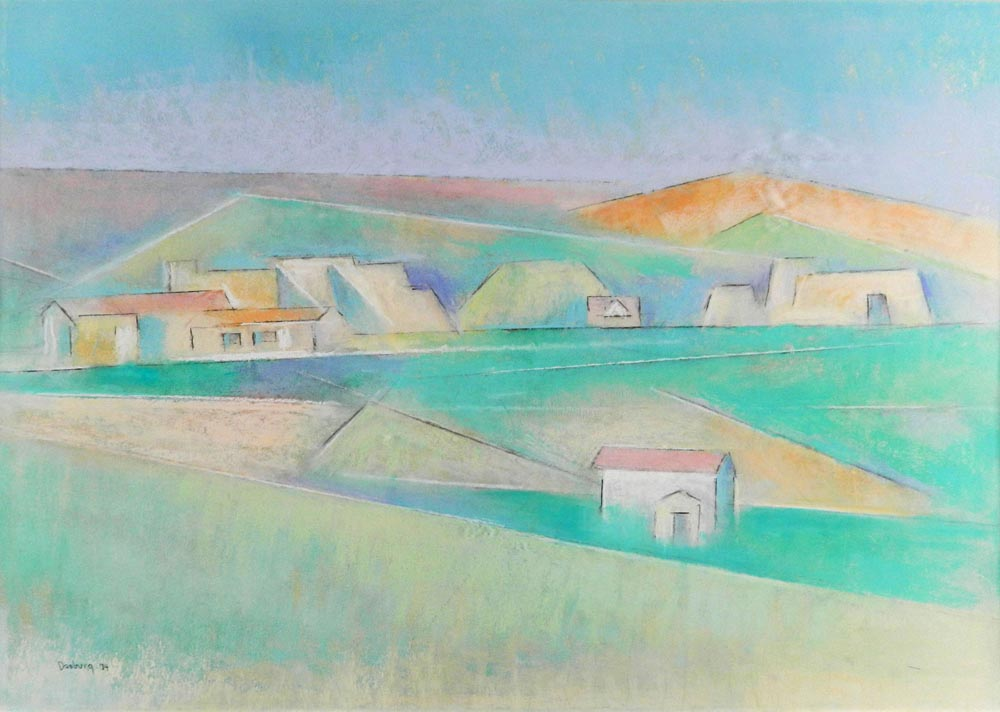 Dasburg-Andrew---Ranchos-Looking-North-unframed