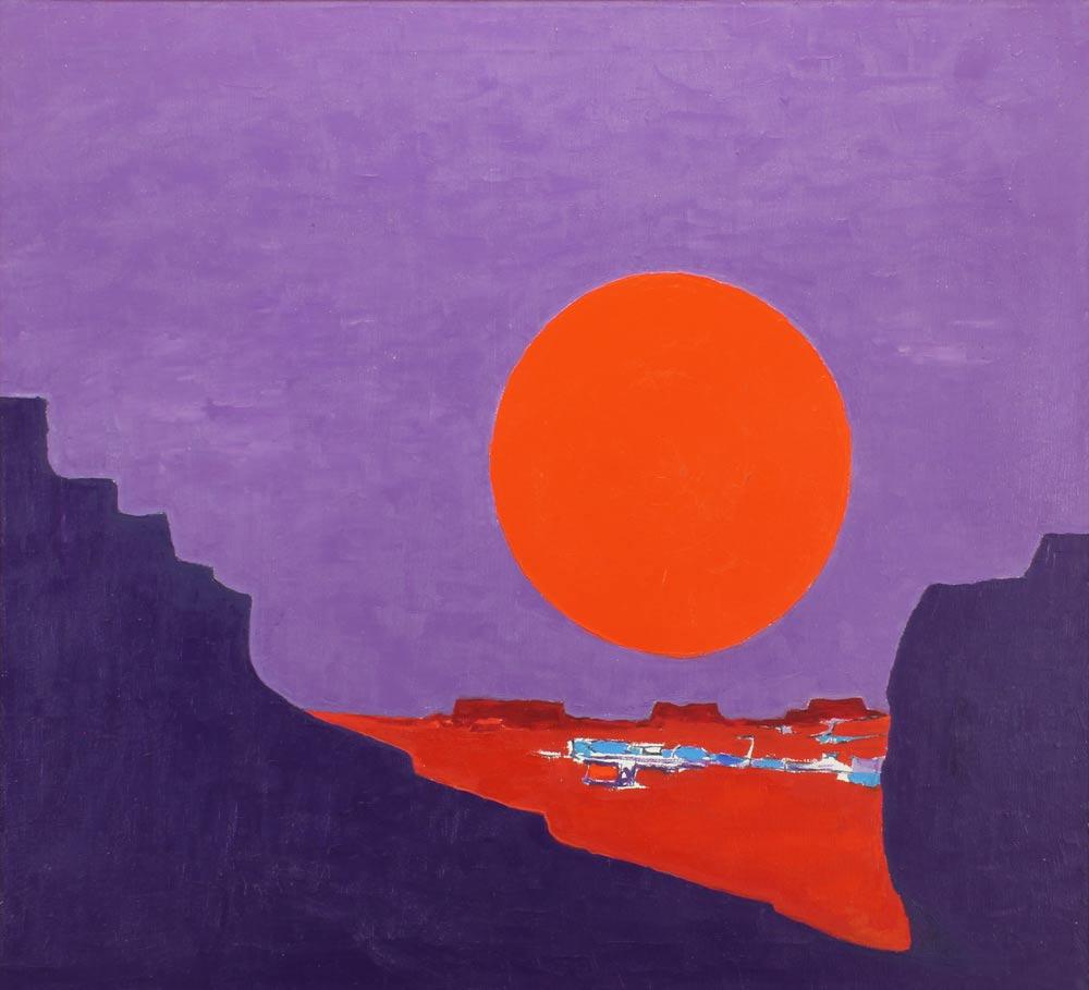DePuy-John---Inner-Gorge-1970-unframed