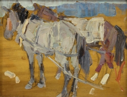 Gaspard-Leon---Horses-No6-China-unframed