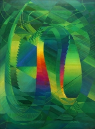 Hiler-Hilaire---Amazonas-Structures-in-Green-1945-49-unframed