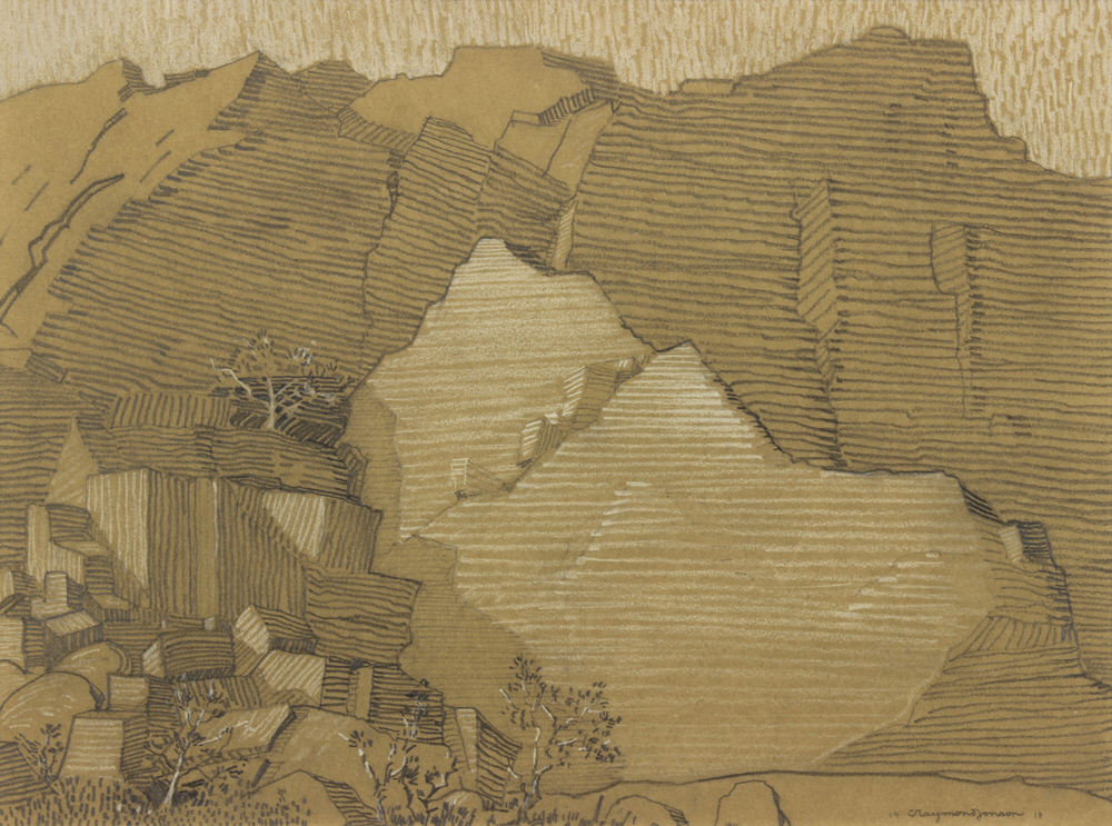 Jonosn-Raymond---Rock-cliff-1918-unframed