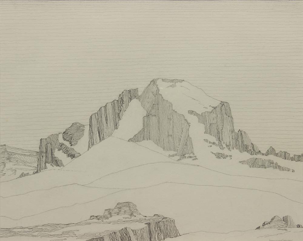 Jonson-Raymond---Long's-Peak-Colorado-1918-unframed