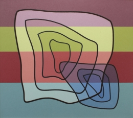 Jonson Raymond - Oil No3 1953 unframed