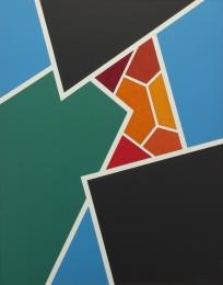 Jonson Raymond - Polymer No 6 1966 unframed