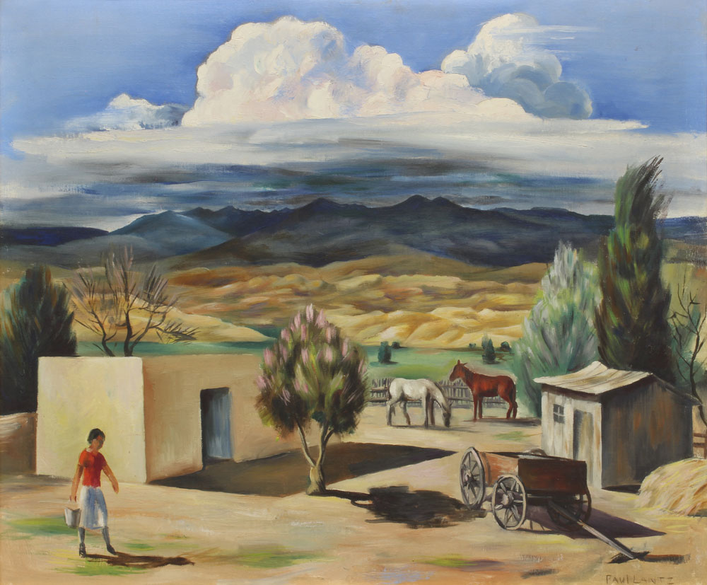 Lantz,-Paul---Chamita-1938-unframed