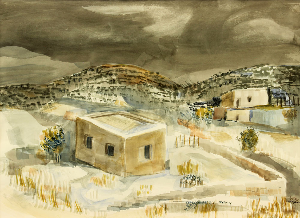 Lumpkins William - Early Snow 1970 unframed edit