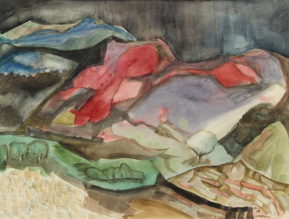 Lumpkins-William---High-Desert-Squall-1974-unframed