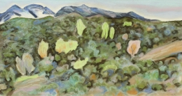 Lumpkins William - Spring Among the Pinon Hills 1985 unframed