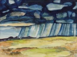 Lumpkins-William---Summer-Rays-1974-unframed