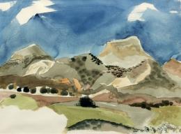 Lumpkins William - Untitled Landscape 1973 unframed edit