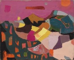 Mandelman-Beatrice---Untitled-Pink-sky-50LS05
