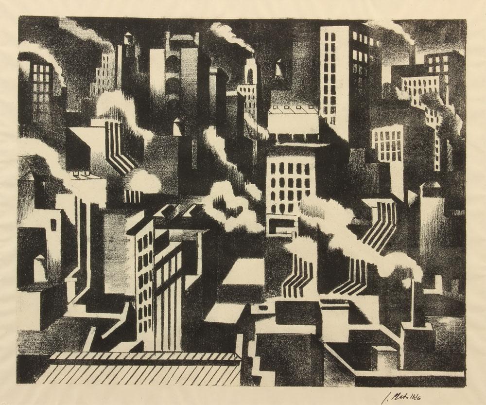 Matulka Jan - Arrangement NY c1925 unframed