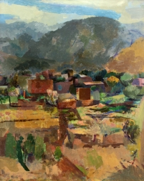 Nash Willard - View of Ranchos 1927 unframed edit