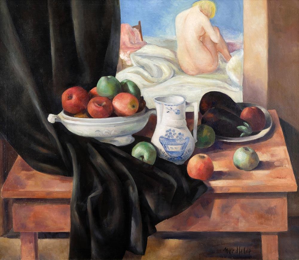 Nordfeldt-BJO---Still-Life-with-Fruit-unframed-edit