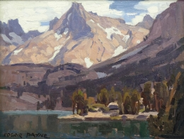 Payne-Edgar---Sierra-Mountain-Lake-unframed