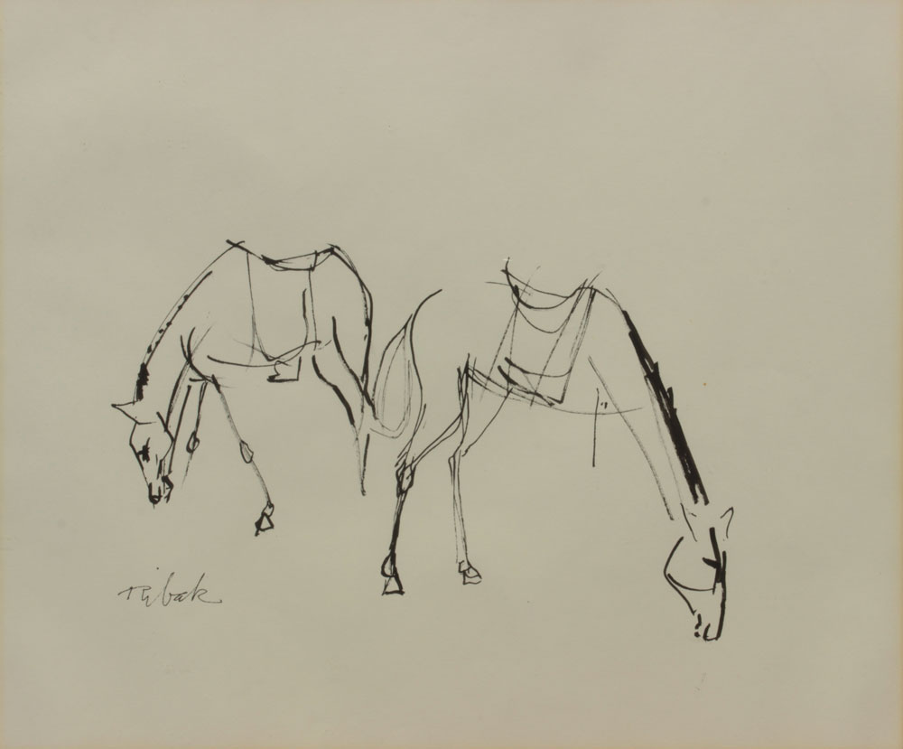Ribak-Louis---Two-Horses-unframed