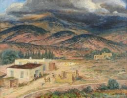 Sloan-John---Landscape-Santa-Fe-1925-unframed