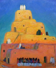 Sterchi-Eda-Elizabeth---A-Pueblo-Taos-1919-unframed-edit