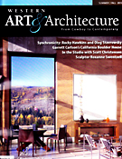 Addison Rowe in the Summer/Fall 2010 issue of Western Art & Architecture