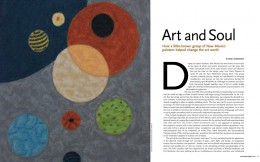 Transcendental Painting Group in Trend Magazine